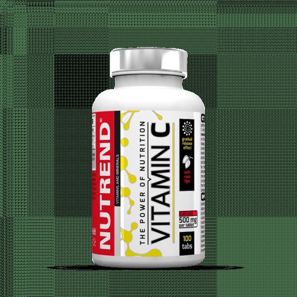 NUTREND VITAMIN C with rose hips, 100 Tabletten Vitamine und Mineralien