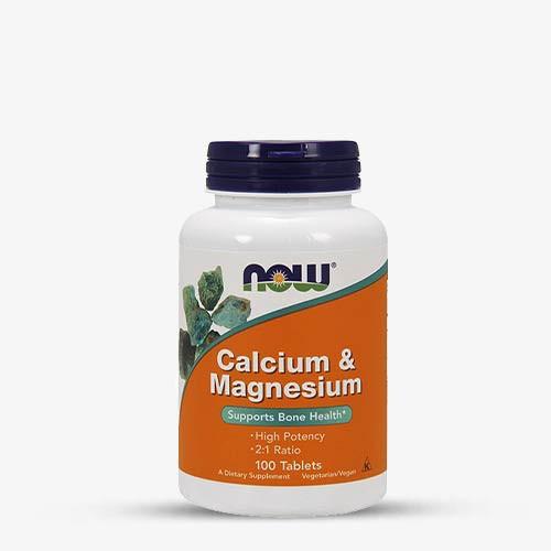 NOW FOODS - Calcium & Magnesium 100 Tabletten