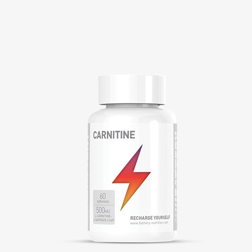 BATTERY CARNITINE 500, 60 Kapseln Diät Produkte