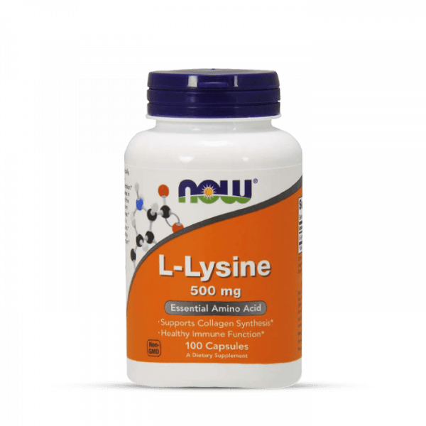 Now Foods - L-Lysine 500mg (100) Standard Aminos