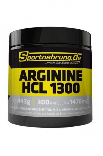 Sportnahrung.de Arginine HCL 1300 300 Kaps.