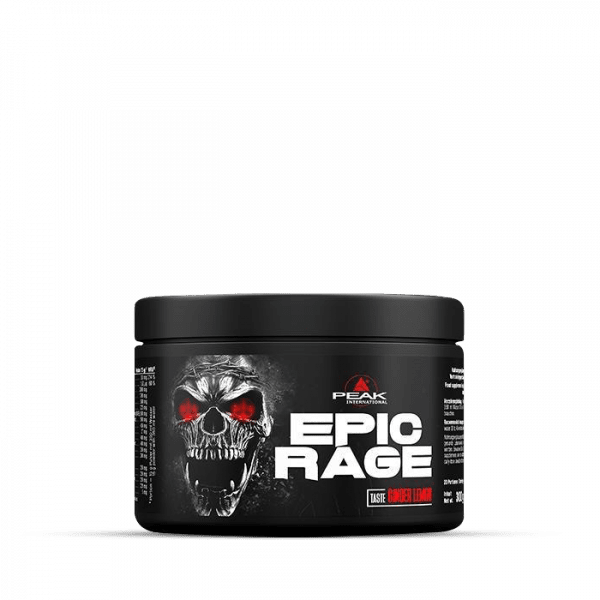 PEAK Epic Rage 300g Ginger Lemon Trainings Booster