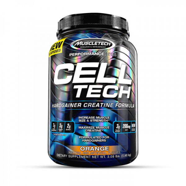 Muscletech - Performance Series Cell-Tech, 1400g - Orange Kreatin