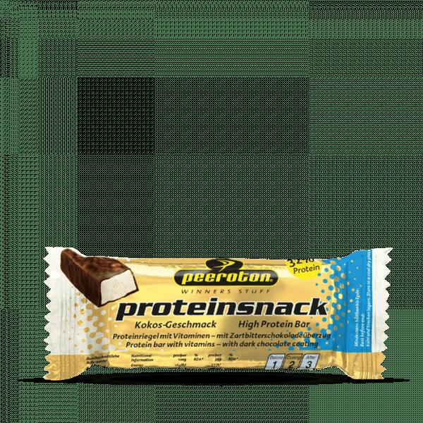 Peeroton Proteinsnack Riegel, 24 x 35g, Kokos