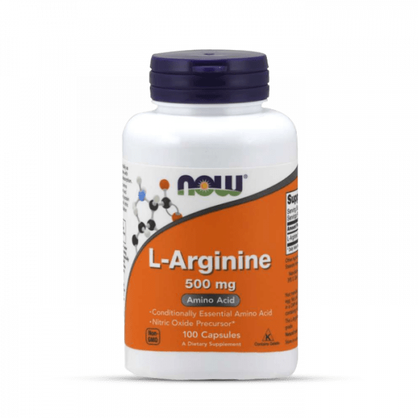 Now Foods - L-Arginine 500mg (100) Standard Aminos