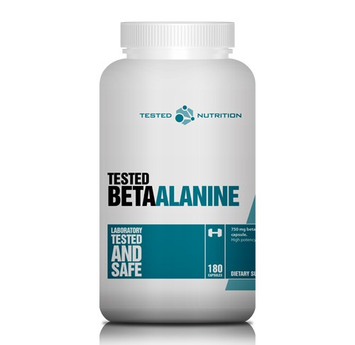 Tested Beta Alanine, 180 Kapseln