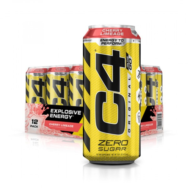 Cellucor C4 Carbonated, 12 x 473ml Drinks
