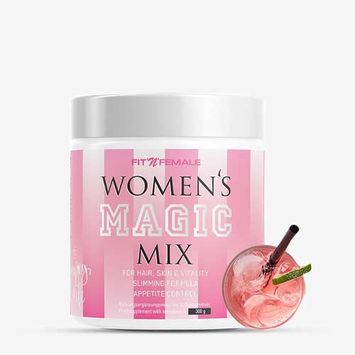 FITNFEMALE Women's Magic Mix 300g - Ping Lemonade - MHD 26.11.2021