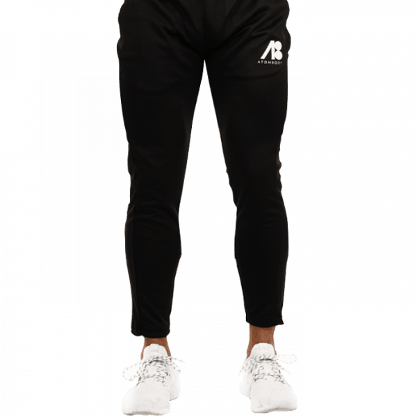 ATOMBODY Trainingshose Slim Fit Jogger, men, black Sportbekleidung