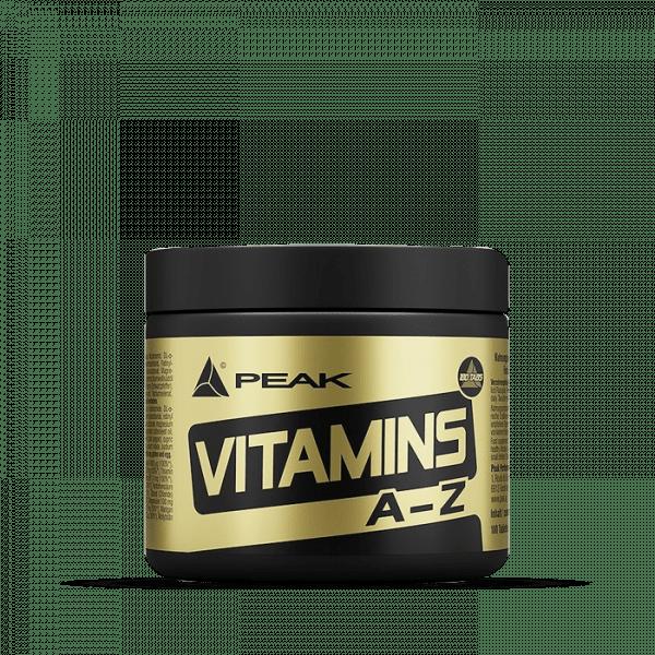 Peak - Vitamins A-Z Standard 180 Kapseln Vitamine und Mineralien