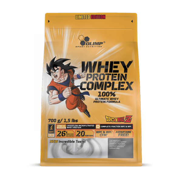 OLIMP Whey Protein Complex 100% Limited Edition Dragon Ball Z 700g