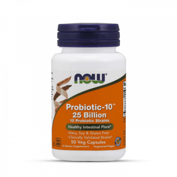Now Foods - Probiotic-10™ 25 Billion, 50, Standard Health Produkte