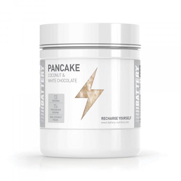 BATTERY PANCAKE 500g Food - White Chocolate Coconut - MHD 31.07.2021