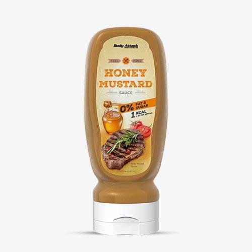 BODY ATTACK Sauce Honey-Mustard 320ml Food