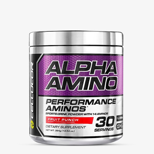 CELLUCOR Alpha Amino 366g Aminos - Fruit Punch - MHD 31.03.2021