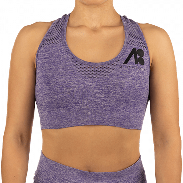 ATOMBODY Workout TOP, woman, purpel Sportbekleidung