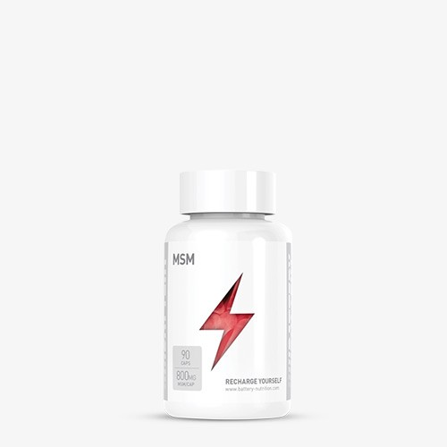 BATTERY MSM 90 Kapseln Health Produkte