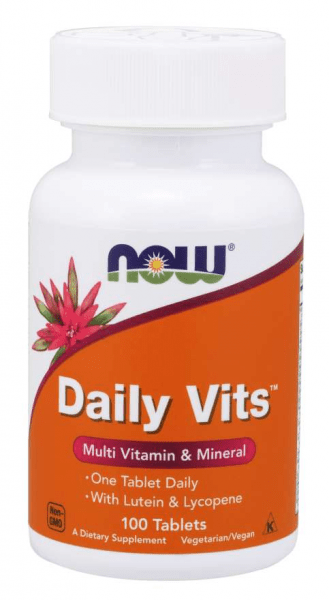 Now Foods - Daily Vits Multi, 100, Standard