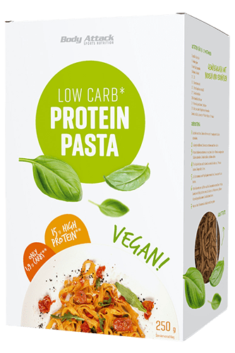 Body Attack Low-Carb Protein-Pasta Vegan, 250g