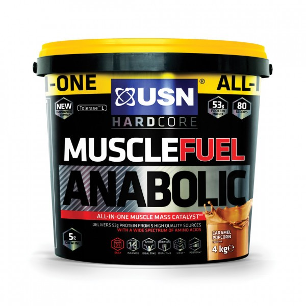 USN MUSCLE FUEL ANABOLIC 4000g
