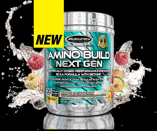 Muscletech - Performance Series Amino Build Next Gen (30 serv) Fruit Punch