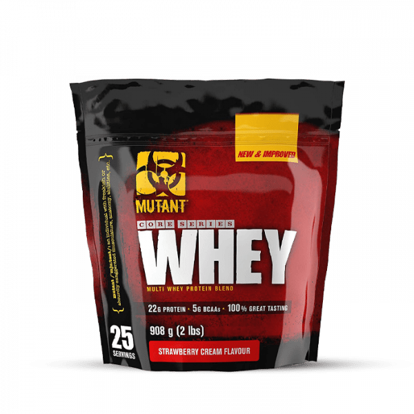 Mutant Whey, 900g, Strawberry Cream Proteine