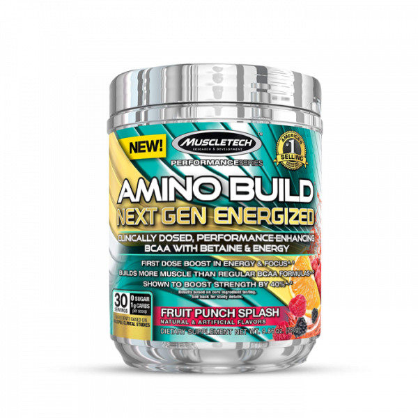 Muscletech - Performance Series Amino Build Next Gen (30 serv) Fruit Punch Aminos