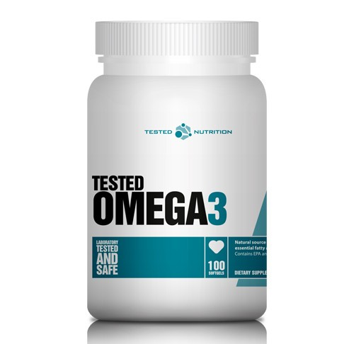 Tested Omega-3, 100 Softgels