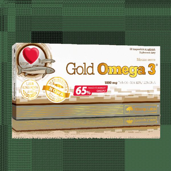 OLIMP Gold Omega 3 65% 1000mg, 60 Kapseln
