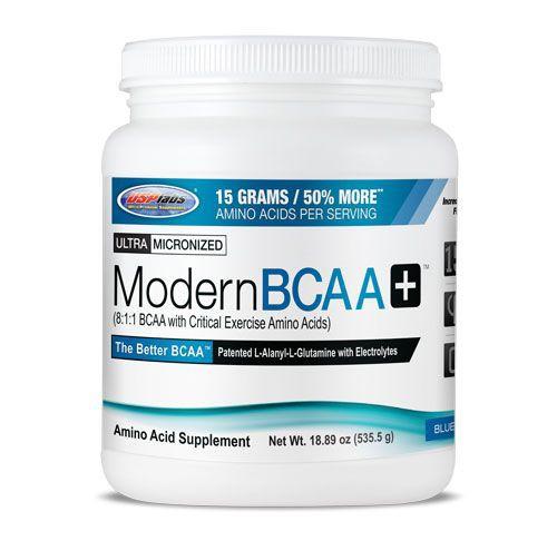 USPLABS Modern BCAA+ 535g - Blue Raspberry - MHD 31.10.2021