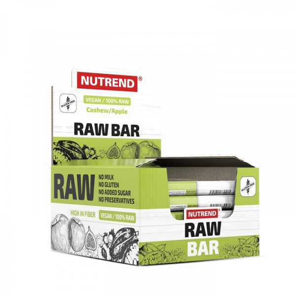 Nutrend Raw Bar (VEGAN) 20 x 50g Bars und Snacks