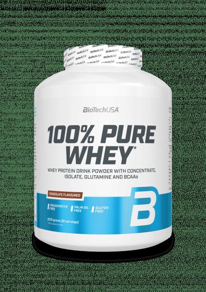 BioTechUSA 100% Pure Whey 2270g Proteine