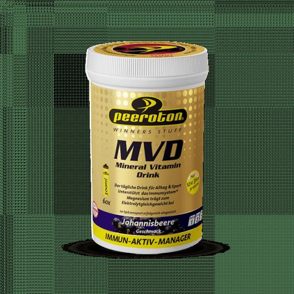 PEEROTON MVD Mineral Vitamin Drink 300G - Schwarze Johannisbeere - MHD 30.04.2021