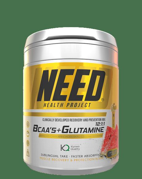 NEED BCAA´S & GLUTAMINE 300g