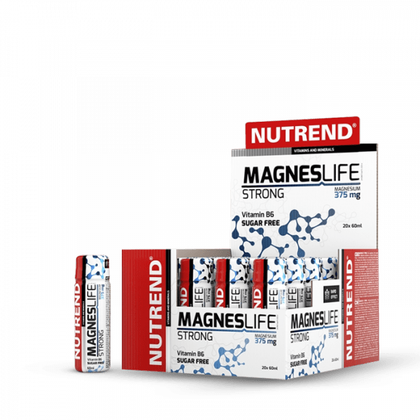 NUTREND MAGNESLIFE STRONG, 20 x 60ml