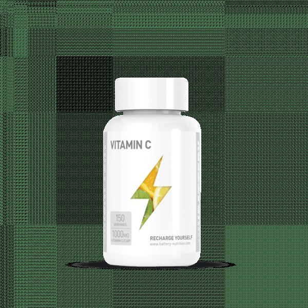 BATTERY VITAMIN C 1000, 150 Kapseln Vitamine und Mineralien