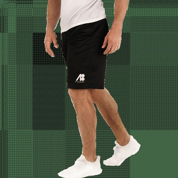 ATOMBODY Mesh Shorts Pro, men, black Sportbekleidung