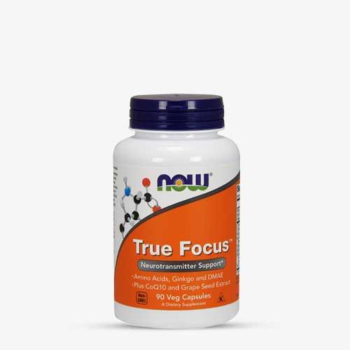 NOW FOODS - True Focus 90 veg Kapseln
