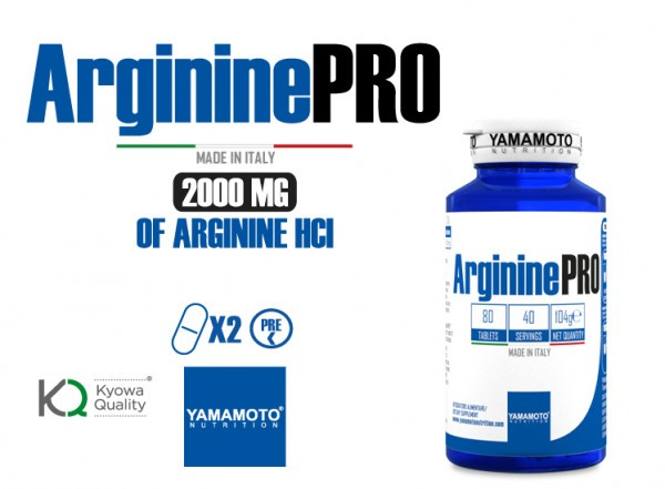 Yamamoto ARGININE PRO KYOWA QUALITY 80 Tabletten