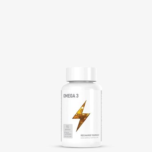 BATTERY OMEGA 3 90 Kapseln Health Produkte