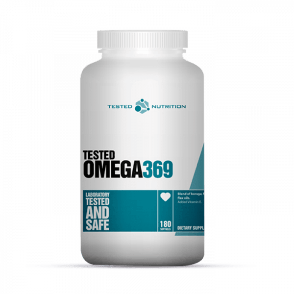 TESTED OMEGA 3-6-9, 180 SOFTGELS