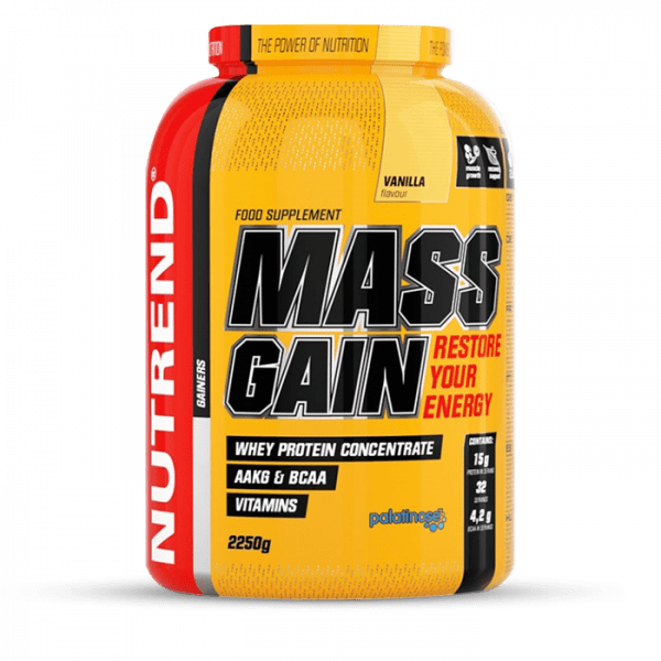 NUTREND MASS GAIN 2250g Gainers/Kohlenhydrate
