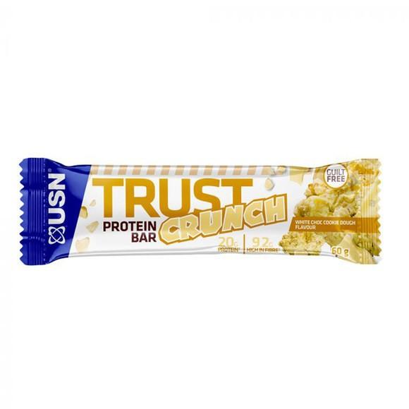 USN Trust Crunch Bars 12x60g White Choc Cookie