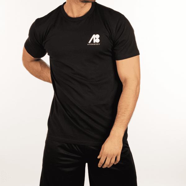 ATOMBODY T-Shirt MUST HAVE, men, M, black