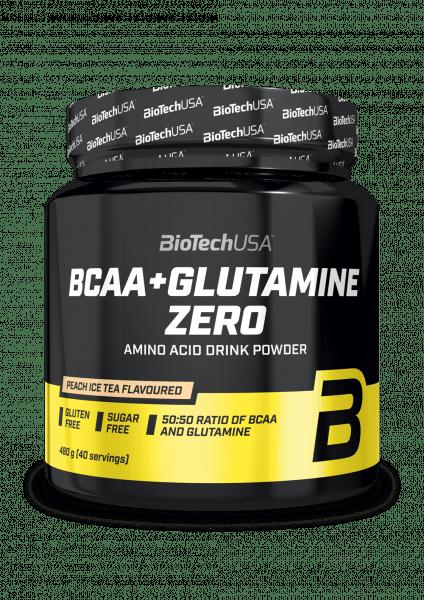 BioTechUSA BCAA+Glutamine Zero 480g Orange