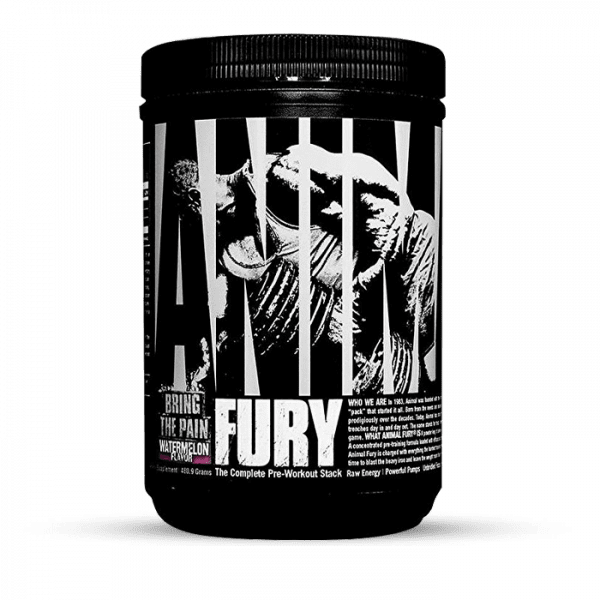 Universal Nutrition Animal Fury Blue Raspberry 495g Trainings Booster