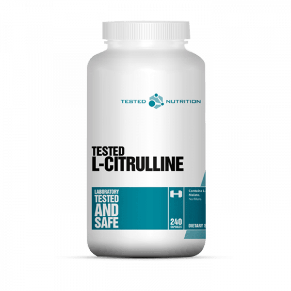 TESTED CITRULLINE MALATE, 240 KAPSELN