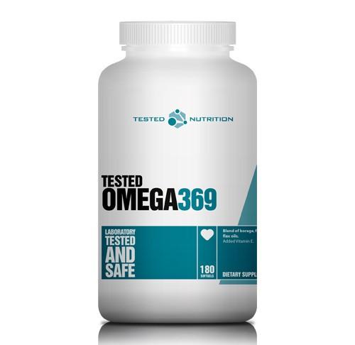 Tested Omega 3-6-9, 180 Softgels