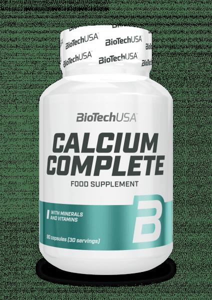 BioTechUSA Calcium Complete, 90 Kapseln Vitamine und Mineralien