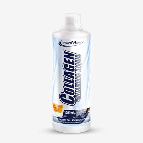 IRONMAXX Collagen + Vitamin C Liquid Mirabelle 1000ml